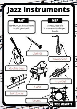 Jazz Musical Instruments