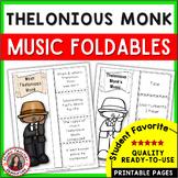 Jazz Music: African American Jazz Musician Thelonious Monk  - Music Listening
