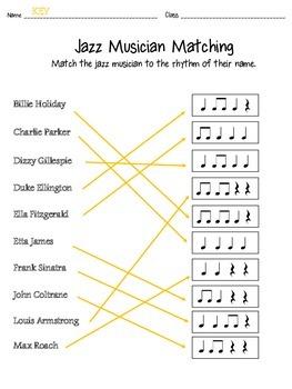 Jazz Musician Matching