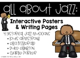 Jazz Musician Posters and Writing Pages