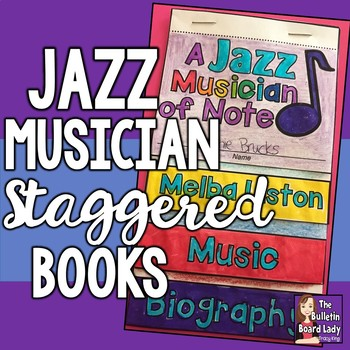 Jazz Musician Staggered Books