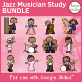 Jazz Musician Study BUNDLE for use with Google Slides