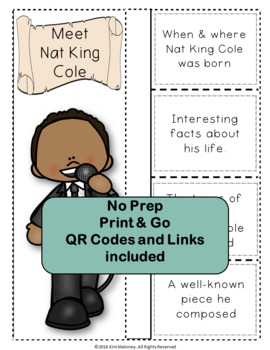 Music: Jazz Musicians: Nat King Cole - Music Listening: Music Lessons