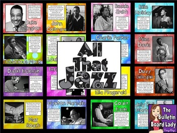 Jazz Musicians BUNDLE