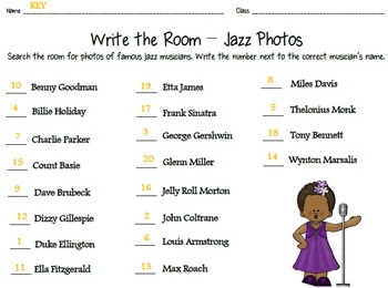 Jazz Pizzazz! Musicians Write the Room - Photos