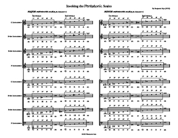 Composing Folk Melodies in Band: Invoking the Pentatonic Scale