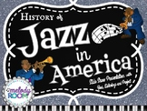 MUSIC HISTORY: Jazz in America (POWERPOINT)