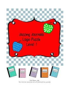 Jazzing Journal Logic Grid Puzzle Level 1