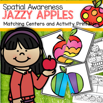 image regarding Apple Pattern Printable called Jazzy Apples Matching Facilities and Match Printables - Spatial Knowledge