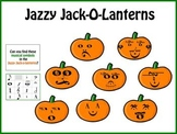 Jazzy Jack-o-Lanterns Music Symbols Bulletin Board Kit
