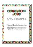 Jazzy Job Chart (Inspired by Boho Birds)