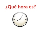 Jazzy Spanish Time Practice PPT