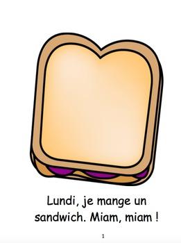 Je Mange (French Reader)
