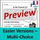 Je Me Présente: French Reading Comprehension Worksheets