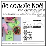 Je compte Noël : les nombres 1 à 20 {Christmas Math Numbers 1-20}