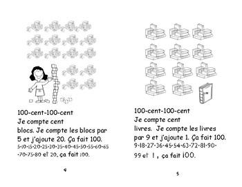 100 jours- petit livret de lecture maternelle, 1 et 2 e
