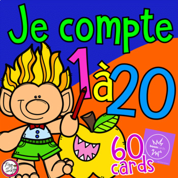 FRENCH BOOM CARDS • Je compte de 1 à 20