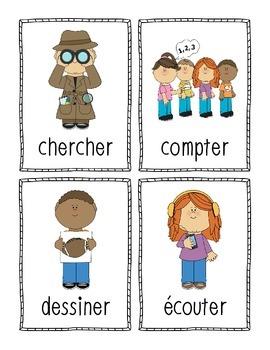 Je connais mes conjugaisons - terminaisons 'er' (French Verbs ending in 'er')