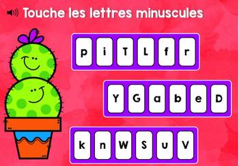 Je connais mon alphabet - Boom cards