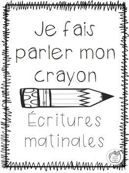 Je fais parler mon crayon - Septembre