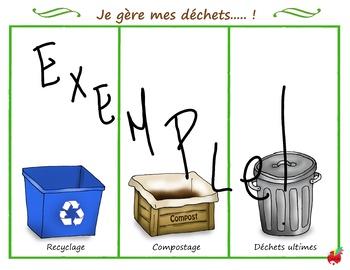 Je gère mes déchets /  waste management
