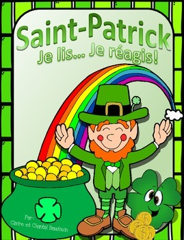 Je lis...Je réagis!  La Saint-Patrick