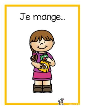 Je mange (emergent readers)
