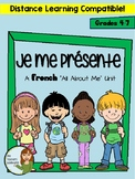 "Je me presente - A Beginner French ""All About Me"" Mini-Unit"