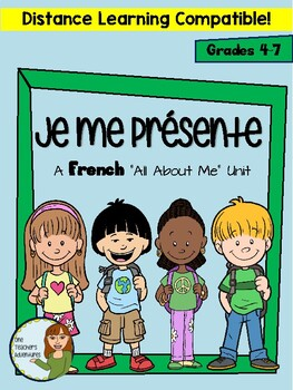 """Je me presente - A Beginner French """"All About Me"""" Mini-Unit"""