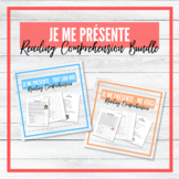Je me présente - French All About Me - Reading Comprehensi