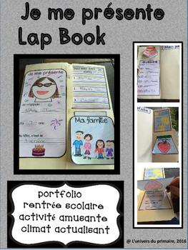 Je me présente- Rentrée scolaire- Lap book