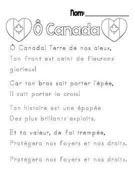 {Je me souviens} A Remembrance Day unit for Grade 2-3 Immersion or Core French