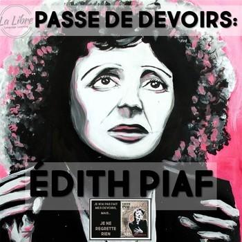 Edith Piaf French Homework Passes