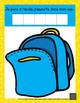 Je pars à l'école, j'apporte dans mon sac… (atelier mathématique de la rentrée)