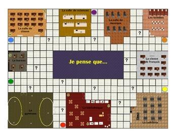 Je pense que... French board game FSL