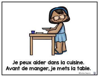 Je Peux Aider Dans La Cuisine By Diamond Mom Teachers Pay Teachers