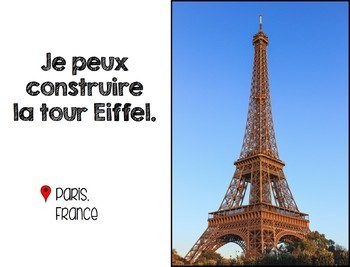 Je peux construire... {French Building Book: 25 World Architecture Sites}