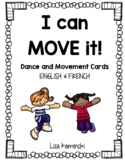 Je peux danser - Dance and Movement Cards