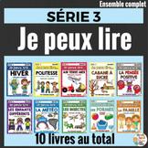Je peux lire - Ensemble complet SÉRIE 3 - French Emergent Readers - Bundle