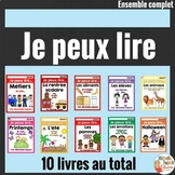 Je peux lire - Ensemble complet SÉRIE 1 - French Emergent Reader Mini Books