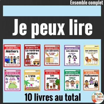 Je peux lire - Ensemble complet SÉRIE 1 - French Emergent Reader Mini Books