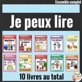 Je peux lire - Ensemble complet SÉRIE 1 - French Emergent Readers Bundle
