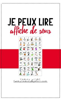 Je peux lire - French Phonics Poster