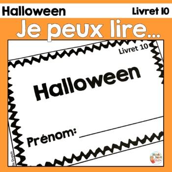 Je peux lire - Halloween - Lecteurs débutants - French Eme