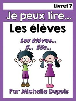 Je peux lire - LES ÉLÈVES - Lecteurs débutants - French Em