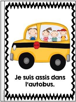 Je peux lire - La RENTRÉE SCOLAIRE - Lecteurs débutants - French Emergent Reader