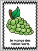 Je peux lire - Les aliments - Livret - French Emergent Reader Mini book