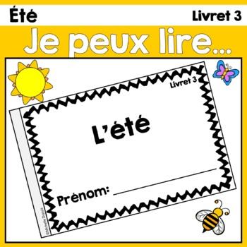 Je peux lire - L'été     Lecteurs débutants - French Emerg