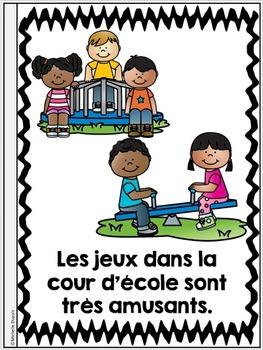 Je peux lire - SÉRIE 2 - French Emergent Reader Mini Books - BUNDLE