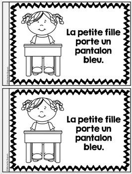 Je peux lire SÉRIE 2 - Les couleurs - French Emergent Reader Mini book